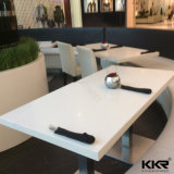 Customized Stone Solid Surface Small Round Bar Table