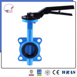 Wafer Type Butterfly Valve with Epoxy Coated Disc