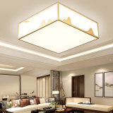 2020 Simple Design White LED Living Room Ceiling Lamp Bedroom Lighting Acrylic Panel Ceiling Light