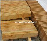 Natural Sandstone, Sandstone, Wood Vein Yellow Sandstone