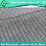 2017 3D Embossed Diaper Topsheet Nonwoven Fabric with SGS Certification