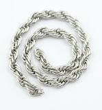 Stainless Steel Thick Twist Chain with Lobster Closure