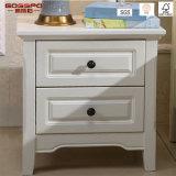 Solid Red Oak Painted Bedroom Nightstands Bedside Cabinet (GSP14-006)