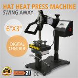 Digital Swing Away Hat Ball Cap Heat Press Transfer Sublimation Machine
