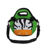 New School Cartoon Neoprene Lunch Bag