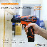 Electric DIY Tools 12V Cordless Drill with Li-ion Battery (KD30)