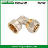 Good Quality Ninety Degrees Elbow Brass Pex Pipe Fitting