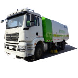 Four Broom Sweeper Truck, Street Sweeper Vacuum Truck for Road Cleaning