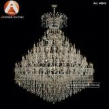 Hotel Project Custom Maria Theresa Luxury Crystal Chandelier