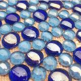 Crystal Glass Beads Glued on Mesh