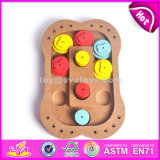 Wholesale Cheap Wooden Interactive Cat Toys Best Design Pet Iq Training Wooden Interactive Cat Toys W06f033