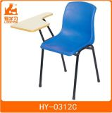 Wooden Metal Single School Student Chair with Tablet