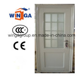 Middle East, Europ, USA French Wingawhitecolor Steel Glass Door (WGS-176A)