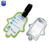 Custom Printing Cheap Plastic Soft PVC Colorful Luggage Tag