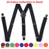 Wholesale Unisex Fashion Elastic Braces Suspender