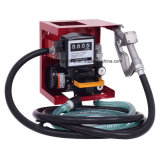 110V Electric Diesel Oil Fuel Transfer Pump W Meter Hose AMP Nozzle