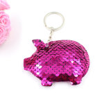 Cheap Fashion Charms Keychain Wholesale Sequin Charms for Decoration Christmas Days