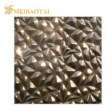 Foshan Export Stamped Cheap Stainless Steel Sheet Decorative 3D Wall Panels