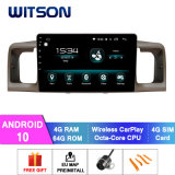 Witson Android 10 Car Audio Video for Toyota 2007 Corolla 4GB RAM 64GB Flash Big Screen in Car DVD Player