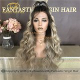 Hot Sales Balayage/Somber/Highlights Lace Frontal/Full Lace Wigs for Upscale Salon Hj11-4-2018-B