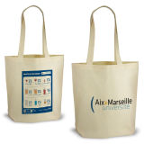 Organic Cotton Bag with Front and Back Silkscreen Printing