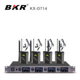 Kx-D714 Four Channel Lavalier Wireless Microphone System