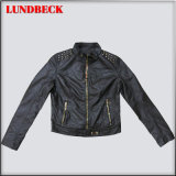 Fashion Women PU Jacket with Competitive Price