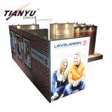 Trade Show Wooden Booth New Fashion Exhibition Stands Portable Aluminum Design
