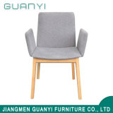 Wholesale Leather Wooden Dining Chair with Armrest