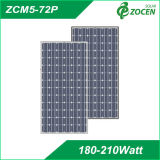 Mono Crystalline 203W Solar Panel with 72PCS 5 Inch Cell