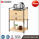 Knockdown Design Cheap Sale Steel Wooden Furniture Durable Teacup Storage Sets