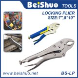 Round Curved-Jaws Positive-Opening Locking Pliers
