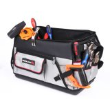 20 Inch Open Mouth Rigid Tool Bag with Hard Base