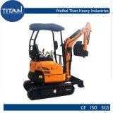 Tl20e 2.0ton Hydraulic Crawler Excavator Digging Machinery