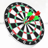 OEM Double Wall Wooden Toy Dart Accessories Dartboard Set