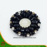 Fashion Acrylic Black Flower (YD-018)