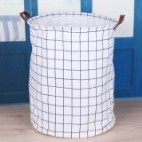 Folding Laundry Basket Cartoon Storage Barrel Standing Toys Clothing Storage Bucket Laundry Organizer Holder Pouch Household