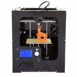 2017 Anet 3D Colored Printing LED Screen Food 3D Printing Machine ABS Filament