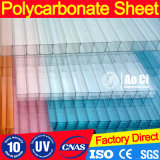 Twin Wall Colored Cheap Lexan Hollow Polycarbonate Sheet Price for Greenhouse