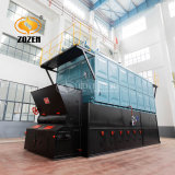 4000kg/H Industrial Biomass Pellet Fired Chain Grate Packaged Steam Boiler
