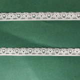 Knitted Lace Nylon Lycra Fabric for Clothing Trim