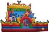 Giant Inflatable Amusement Park Equipment Bouncy Castles