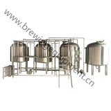 Beer Small Capacity 14-12-4 Bottle Rinsing Filling Capping Unit Machine