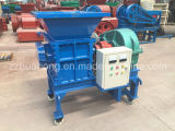 China Factory Price Plastic Crushing Shredder Machine, Used Waste Tyre Recycling Machine Price List