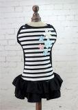 Quality Design Cotton Pet Clothes Princess Stripes Dog Dress
