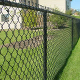 Cheap Simple Residential Security Galvanized Chain Link Garden Fence