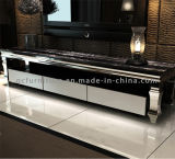 Modern Model Marble Top TV Stand with Drawer