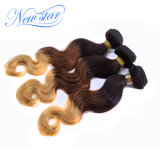 Ombre Brazilian Virgin Hair Body Wave Blonde Remy Hair