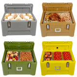 65L Keep Warm or Cooler Food Container Insulated Plastic Delivery Box, Heat Insulation Box for Food Delivery