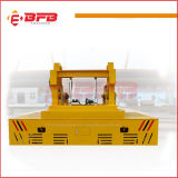 Custom Hydraulic Track Handling Cart for Factory Transfer